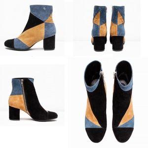 Zadig & Voltaire Lena Patchwork Boot